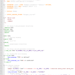 Example MTF Snippet in Notepad++ showing syntax highlighting